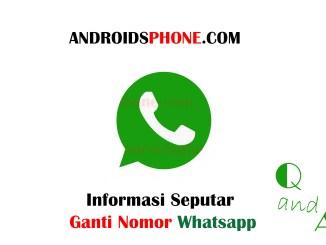 Informasi Seputar Ganti Nomor Selular Pada Akun Whatsapp Terbaru