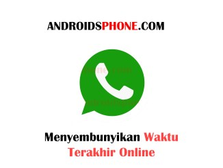 Cara Menyembunyikan Waktu Terakhir Online di Whatsapp Terbaru