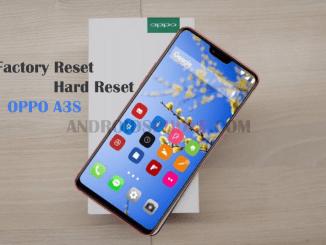 Cara Restart Hard Reset dan Factory Reset Oppo A3S