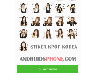 Download Stiker Red Velvet Super Junior KPOP Korea Untuk Whatsapp