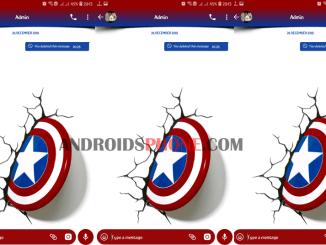 Download Tema Avengers Captain America Untuk GB Whatsapp