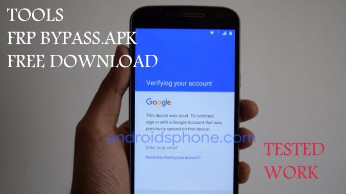 Download Tools FRP Bypass Apk Tested Terlengkap