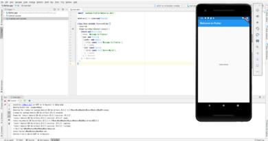 플러터(flutter) 개발환경 Windows OS 설치 후 Demo 앱 만들기