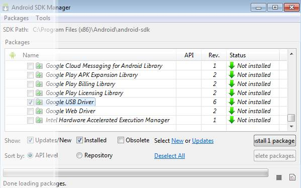 SAMSUNG Android USB Device Driver Download   Android Supports