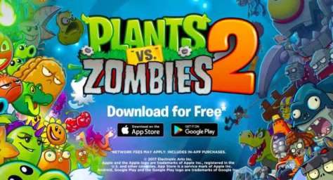 descargar plants vs zombies 2