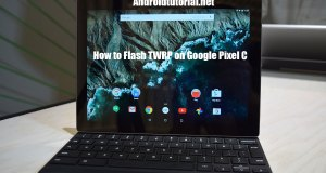 flash twrp on google pixel c