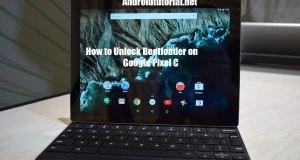how to unlock bootloader on Google pixel c