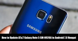 Update AT&T Galaxy Note 5 SM-N920A to Android 7.0 Nougat
