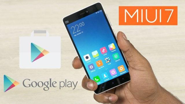 Install Google Play Store on MIUI
