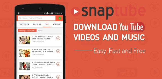 Download SnapTube Video and Music Downloader 4.23.0.9311 APK