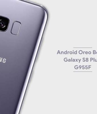 Install Android Oreo Beta 3 on Samsung Galaxy S8+