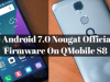 Install Android 7.0 Nougat on QMobile S8
