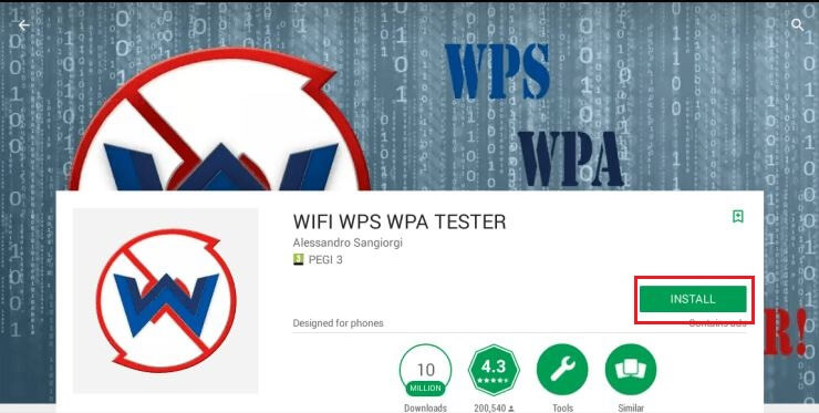 Download WifiAccess WPS WPA WPA2 V2.6: Without ROOT permissions: – Audit  networks