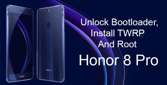 Root Honor 8 Pro