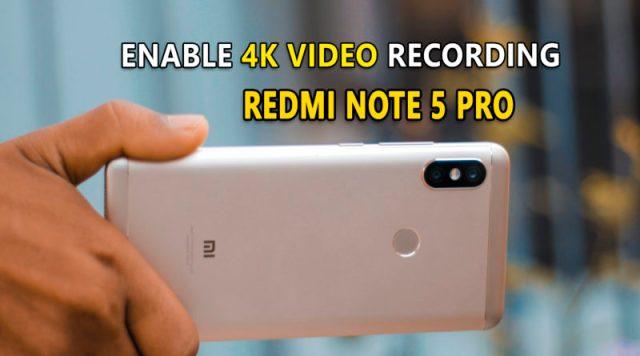 Enable 4K UHD Video Recording