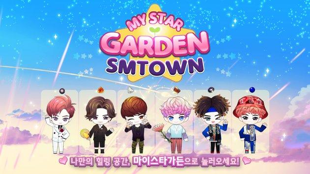my star garden with sm town apk