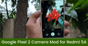 Google Pixel 2 Camera App on Redmi 5A