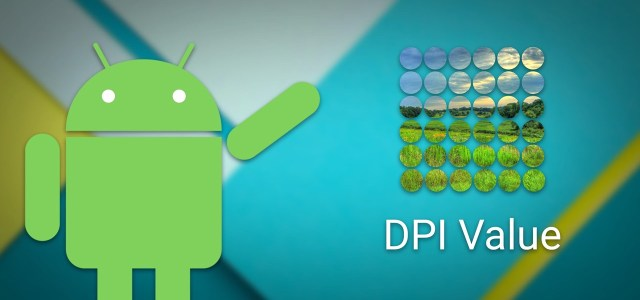 Android Phone's DPI