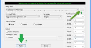 Broadcom Multidownloader Flash Tool