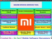 Xiaomi Service Tool 2018