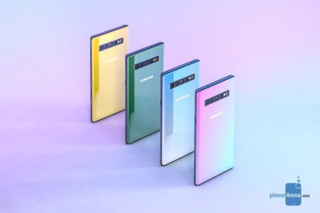 variants of Galaxy Note 10
