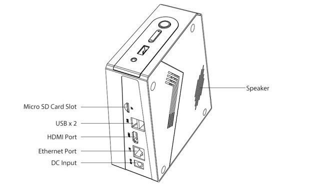 GOLE2 is a Mini PC with FHD Wide Angle Camera and SATA Bay