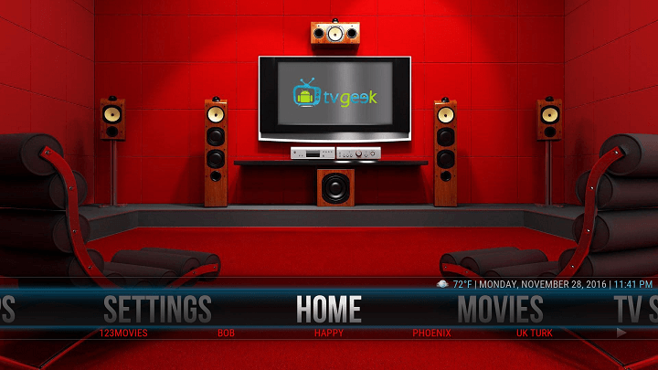 how to set up trakt.tv video library for tvgeek kodi screen 2