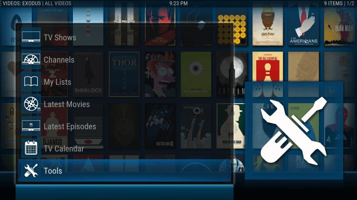 how to set up trakt.tv video library for tvgeek kodi screen 4