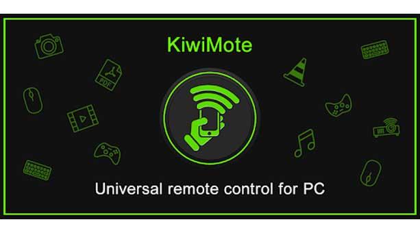 En İyi Telefondan Bilgisayarı Kontrol Etme Uygulaması KiwiMote
