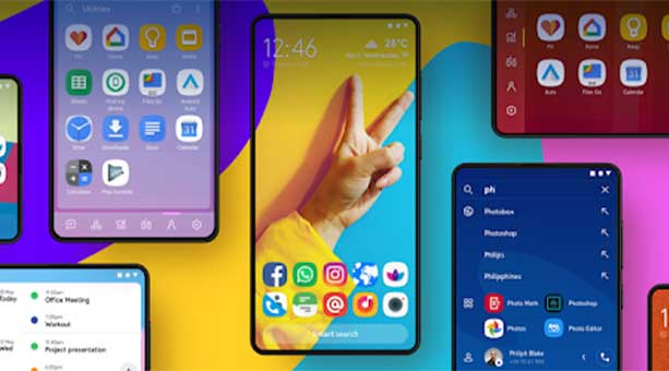 en iyi tema uygulamaları Smart Launcher 5 2020