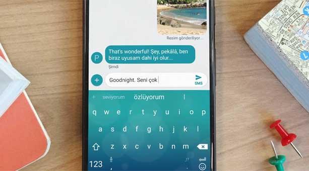 en iyi klavye uygulaması SwiftKey 2020