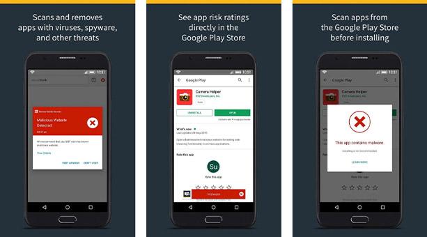 zararlı yazılımdan korunma uygulaması Norton Mobile Security 2020