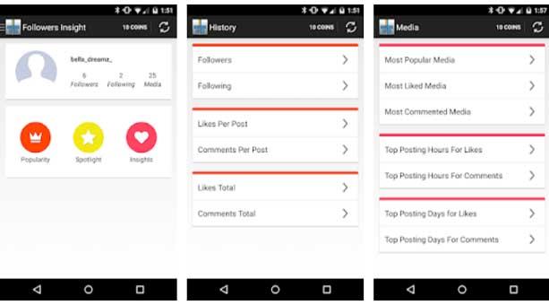 instagram takip etmeyenleri bulma uygulamaları Followers Insight 2020