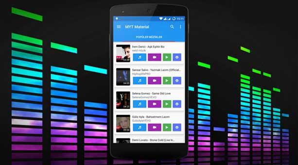 en iyi mobil müzik indirme uygulamaları MYT Müzik 2020