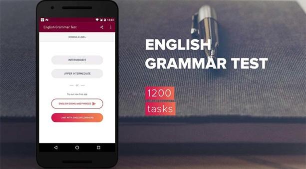 ingilizce uygulaması English Grammar Test 2020