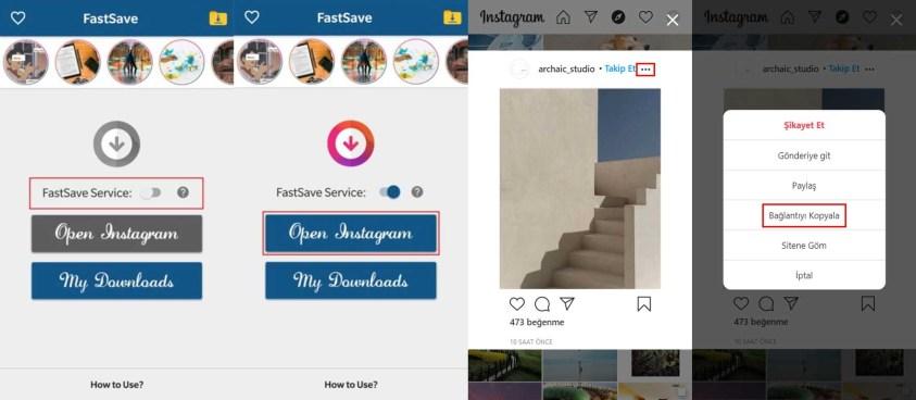 FastSave for Instagram Instagram Fotoğraf İndirme 2020