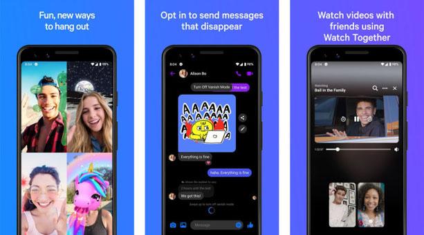 en iyi mesajlaşma uygulaması Facebook Messenger