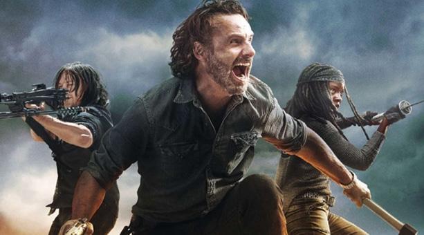 zombi temalı dizi The Walking Dead