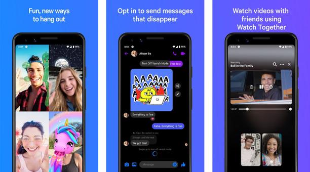 en iyi mesajlaşma uygulaması Facebook Messenger (Lite)