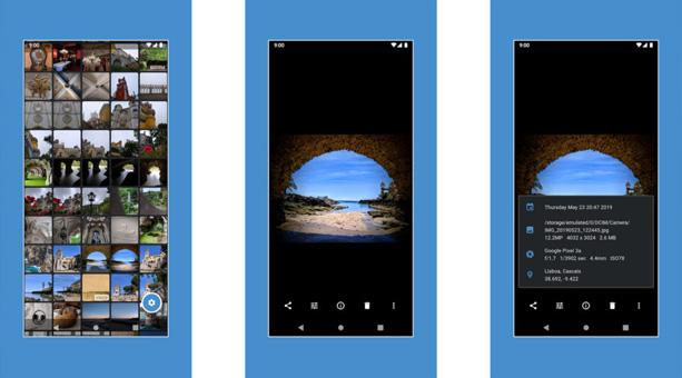 galeri uygulaması Focus Go