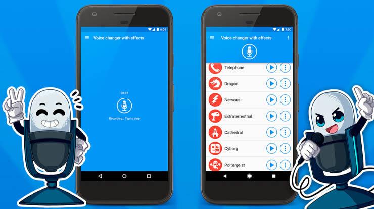 android ses değiştirme uygulamaları