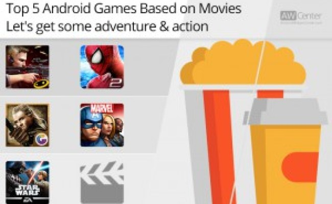 Top 5 Android Games Based On Movies Get Some Adventure