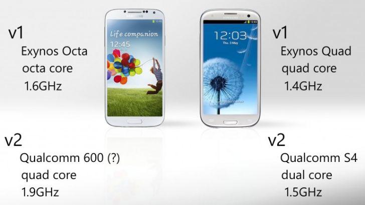 Galaxy S4 Vs Galaxy S3 Procesador