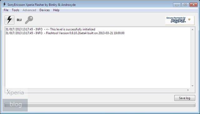 Actualizar Sony Xperia S FlashTool