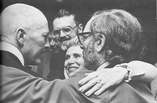 Robert A. Heinlein, Isaac Asimov , Lyon Sprague de Camp 1975