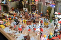 Diorama Playmobil medieval   ANDROMITS