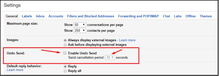 طريقة إلغاء إرسال بريد إلكتروني على Gmail بعد إرساله