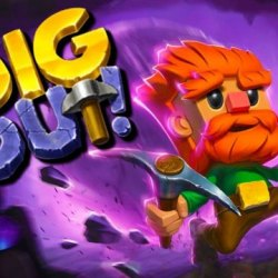 Dig Out Mod Apk Unlimited Money No ADS Free Download with Dig Out v2.15.0 Apk Mod hack Money Gold Digger AdFree infinite life, No ADS keys, life strength, coins, and pickaxe unlock all skins craft items download for Android on 1 happy pure 5