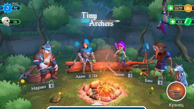 Tiny Archers Mod APK Unlimited Money Free Download unlocked all everything gems for Android on 1 to happy pure ad-free or no ads DS 4