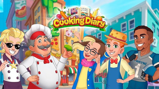 Cooking diary mod apk Gameplay ( Unlimited gems ) download free for Android happy pure 1 everything 2020 unlocked 2